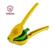 Aluminum Alloy Manual Double Bowl Lemon Squeezer Citrus Juicer Press