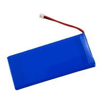 Rechargeable 11.1v 1600mah lithium polymer battery for Laser blood collector