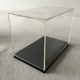 clear acrylic display box/perspex display box/ shine acrylic display case