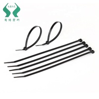 New arrival nylon self locking cable tie black zip cable ties