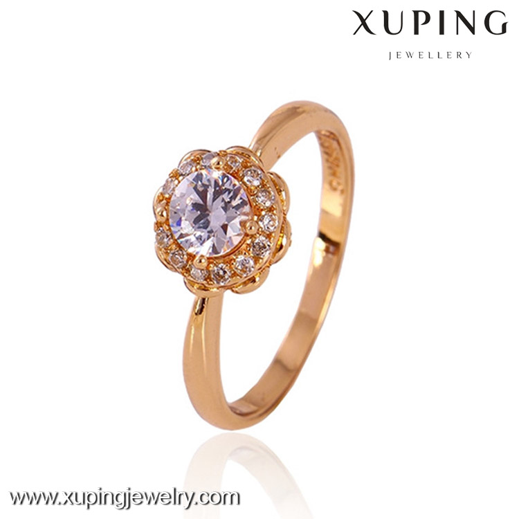 11225-xuping New Model 18k Gold Jewelry Wedding Ladies Finger Ring ...