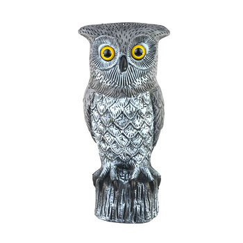 Cheap Plastic Figurines Decoys Home Depot Owl Outdoor Garden Decor