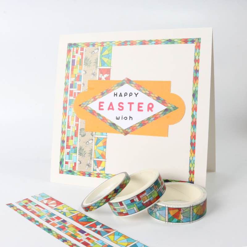 Easter washi tape school stationery DIY washi Printed Adhesive Tape