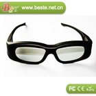 high tech high quality lcd shutter glasses,active shutter 3d glasses