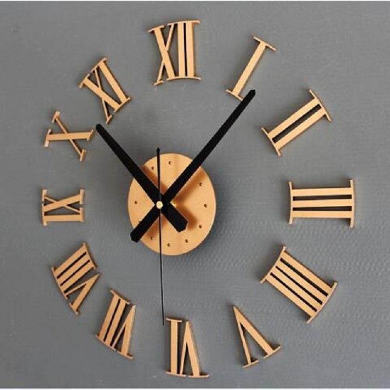 Algarismos Romanos Antigo Criativo DIY Auto Adesivo