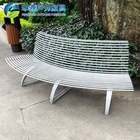 Durable Stainless Steel Customized Metal tree Bench Seat Chair For Garden Park Outdoor Furniture