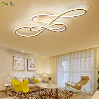 Verllas Luminarine Avize Modern Led Ceiling Light For Living Room Bedroom Lamparas De Techo Dimming