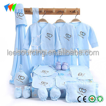 High Quality Baby Clothes Wholesale Cute Printed Cotton Newborn Baby