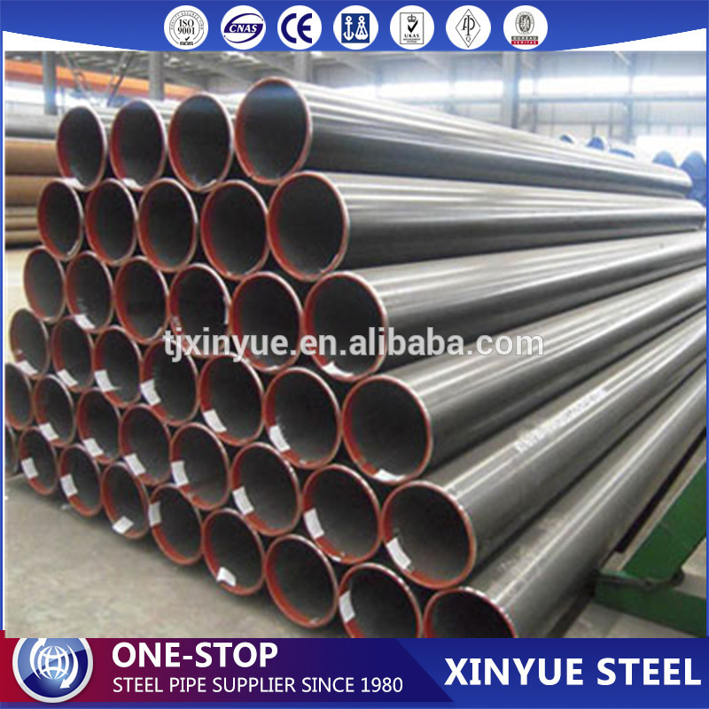 ASTM A53 GR B SCH 10 Oil and Gas Steel Pipeline, ERW Galvanized Water Well Steel Pipes