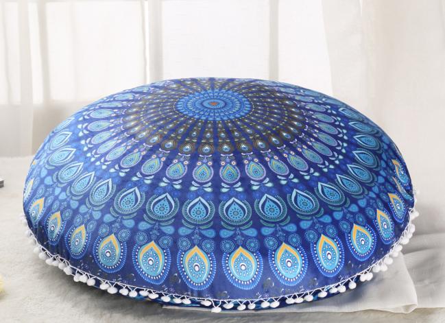 Envío de la gota 15 colores ronda mandala tapicería Bohemia floor ...