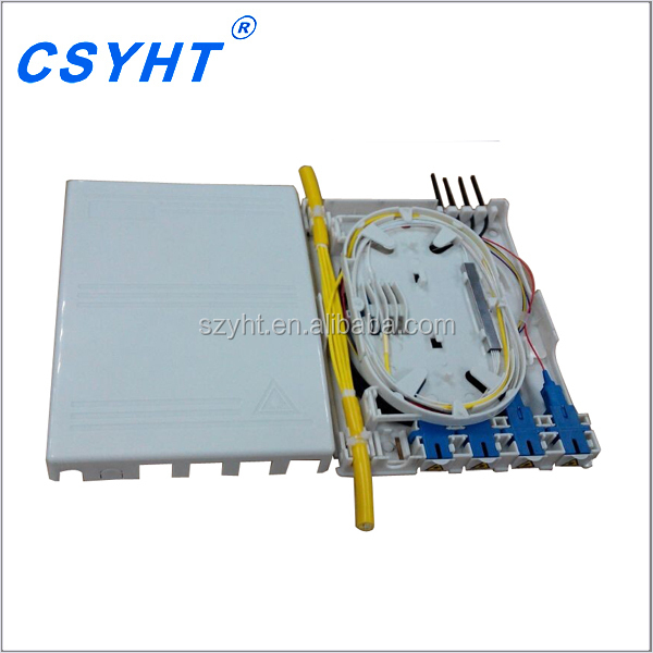 FTTH indoor Boxes FTTH Termination Box Mainly used in network cabinet or comprehensive cabinet OTB-C04-C