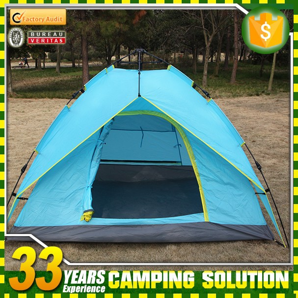 Custom Luxury Tent 2 persons Heated Print Outdoor Camping Equipment