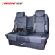 VIP rear auto seat and footrest for luxury van