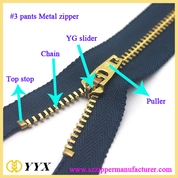"pocket zipper #5 navy color brass zipper 7"" open zips"