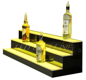 ShenZhen Factory Accept Customized bottle glorifier Acrylic Display Racks with LED light for bar