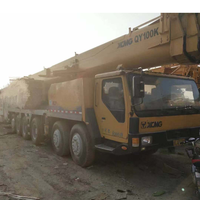 Good quality 2014 Year used XCMG QY100K 100 ton truck mobile crane for sale