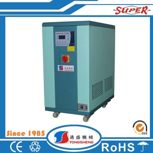 Heat exchanger oil cooler water cooled chiller