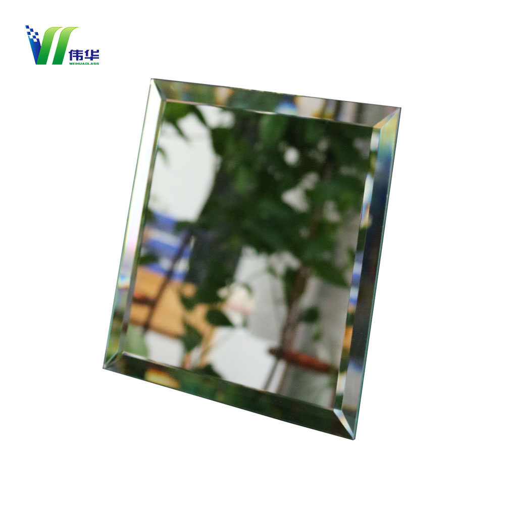 Decorative Irregular Shaped Wall Silver Mirror Glass
