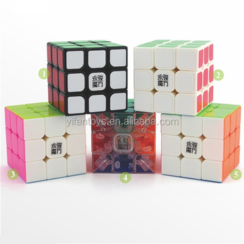 2016 New Yj8608 Yongjun Diy Cube Toys Yulong 3x3 Stickerless Magic ...