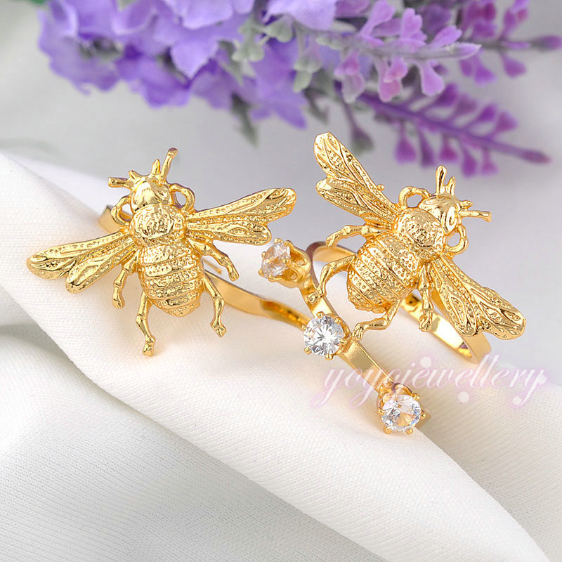 Novel simple gold plated ring design for girls, View gold plated ...