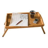 Breakfast Bed Bamboo Lap Tray Laptop Desk