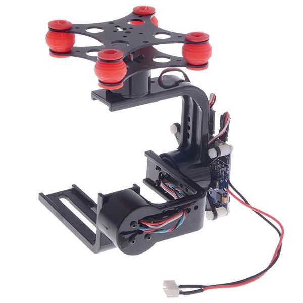 FPV 3 Axis Brushless Gimbal Camera W / Controller Motor For Gopro 3 DJI Phantom