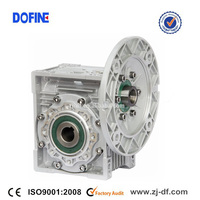 DOFINE gear worm wheel speed reducer unit price and applications