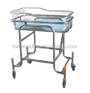 Cheap hospital medical Stainless Steel Infant Neonatal Baby Cribs Bed For Sale bedroom furniture
