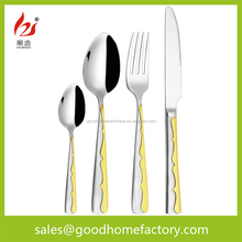 stainless steel cutlery /tableware/dinnerware high quality cutlery set