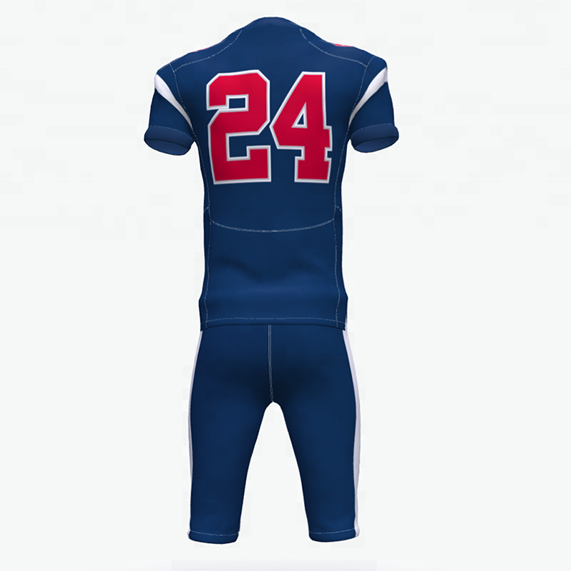 Aangepaste hoge kwaliteit ontwerp uw eigen logo nieuwe stijl american football jersey