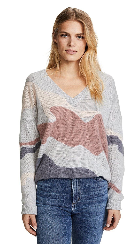 9ee257b5d2e 360SWEATER 360 Sweater Women s Zuleika Skull Cashmere Sweater