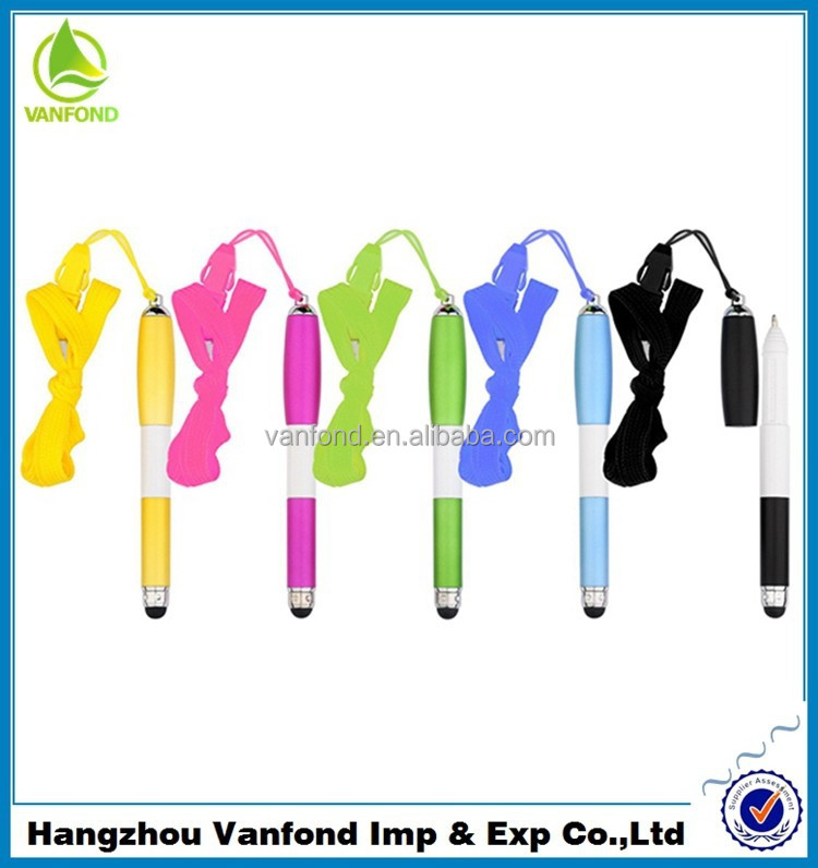 Pen Factory Direct Top Sell Cheap Cute Pen with Stylus for Mobile Phone/Ipad/Tablet