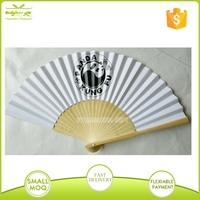 cheap Custom logo Chinese Paper hand held Fans
