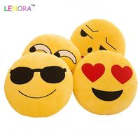 Best selling OEM quality plush Emoji plush toy emotion plush toy