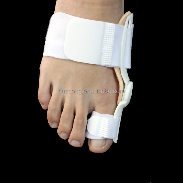 Hinged Splint Foot Big Toe Foot Pain Relief Bunion Movable Splint straighter Bunion Aid Toe Splint Relief Orthotics