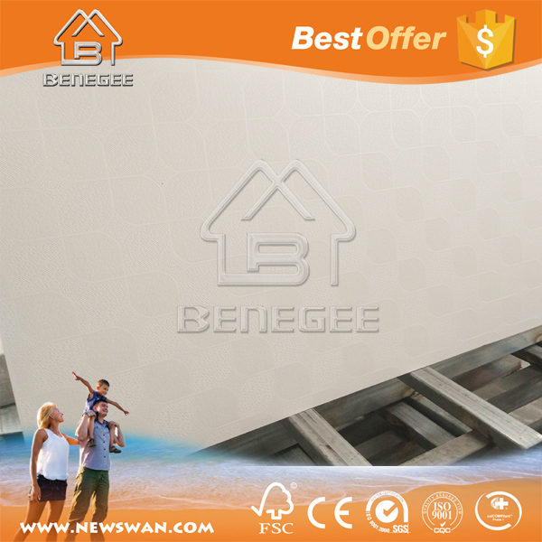 12.50MM Plaster Ceiling Design / Hanging Drywall Ceiling