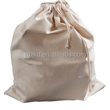 Large Canvas Drawstring Laundry Bag