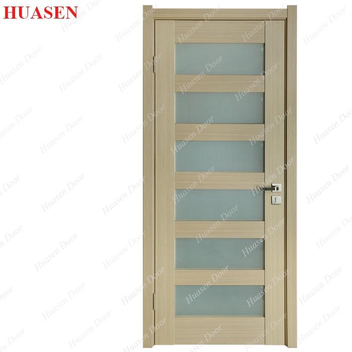 Modern Office Building Interior Wood Glass Single Door Buy Modern
