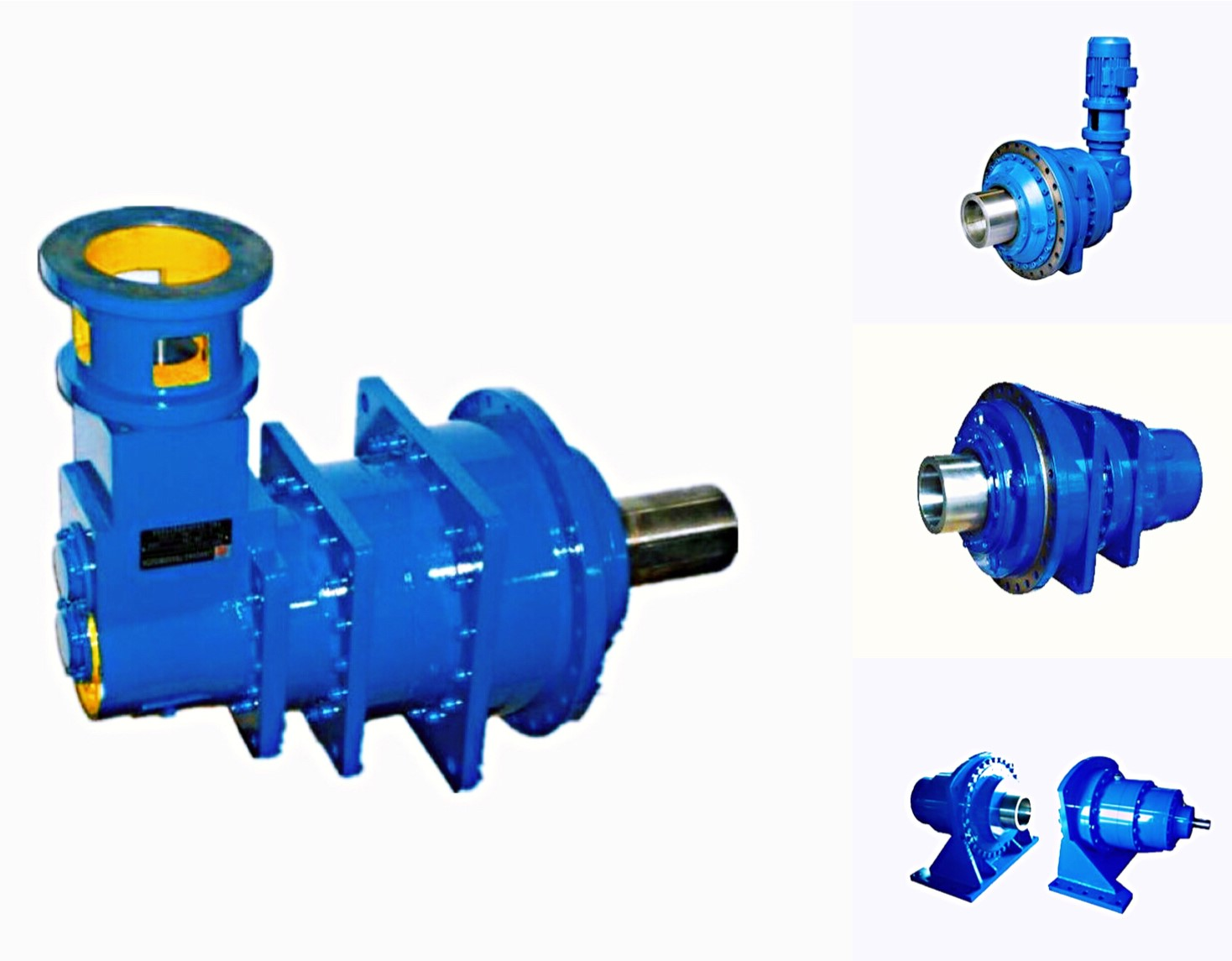 3 stage planetary inline reduction gearbox
