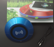 BMN909-3 wireless charging function Blue Powerful car air purifier with HEPA filter, ionizer and ozonizer for releasing negative