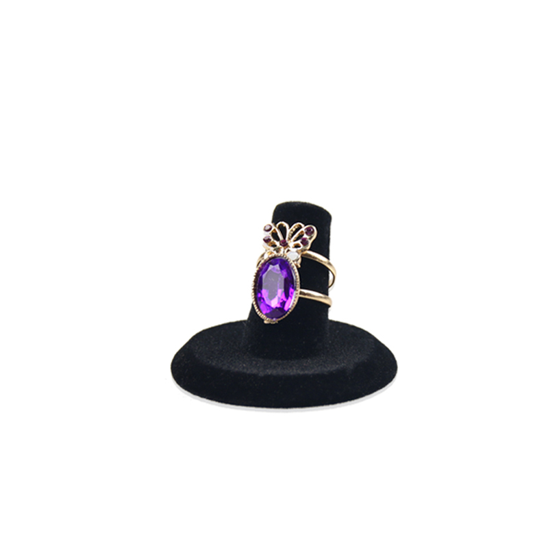 latest popular jewelry display for lover rings matte finished rings display custom ring display stand