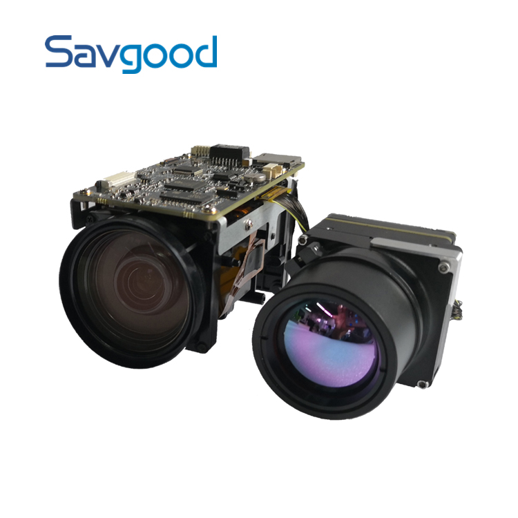 SG-TVZM2030N-25 2MP 4.7~141mm 30x Zoom Visible 640x480 Thermal Bi-spectrum Hybrid Network IP Thermal Imaging Camera Module