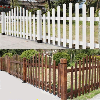 White Small Wooden Decorative Garden Picket Fence Buy