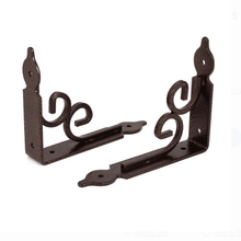High Quality Hardware Series metal cabinet shelf brackets