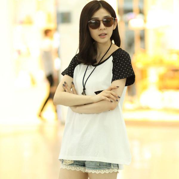 10662839081 Poleras De Mujer Moda 2015 Korean Fashion Clothing Women T Shirt Womens  Tops T-shirt