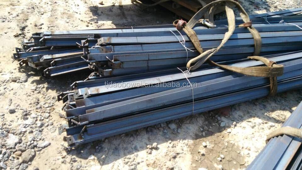 L forma de acero ngulo de hierro postes de la cerca - Angulos de hierro ...