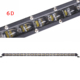 "Cars Offroad 240W 210W SUV Trucks 90W 120W Driving Beam 4X4 Thin Single Row Super Slim 6D 20"" Inch Led Light Bars"