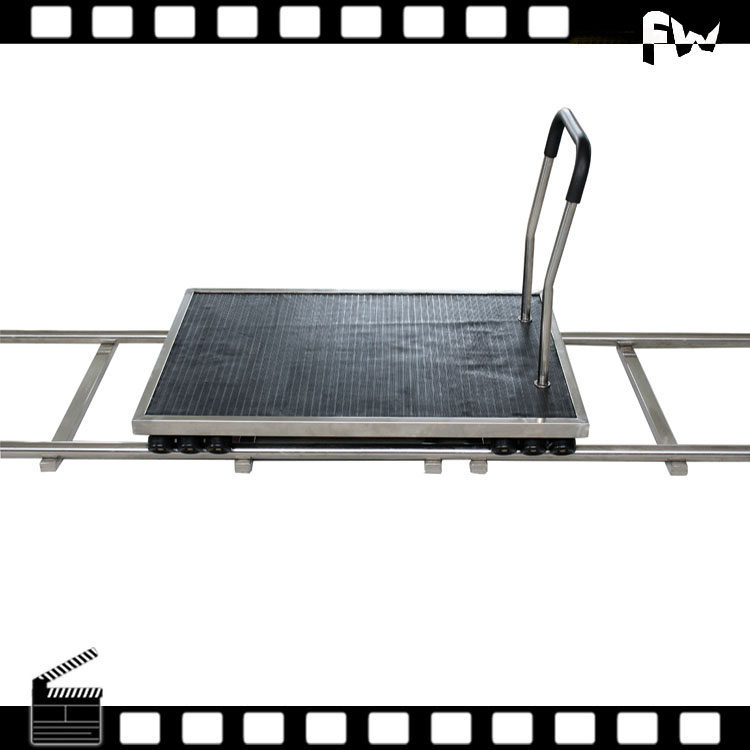 High quality 24 wheels video camera track wheel dolly