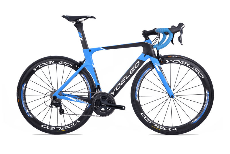 2017 Yoeleo R6 Aero Carbon Fiber T700 Disc Brake Bike Frames With Colors Ghost/White/Blue/Green/Red/Yellow/Pink