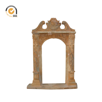 Hand Carved High Quality Exterior Polished Marble Door Frame Design ...